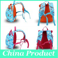 Wholesale Baby Prevent Lost - Wholesale Baby School Backpacks 1-4 year The Toddler Boys Girls Cartoon Bear Backpacks Mom Prevent Lost Bags 010259