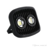 Wholesale project green light for sale - Glass Lens bridgelux LED High power COB Flood Light W waterproof spot lamp AC85 V high PF outdoor Landscape lighting project lamp