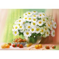 Wholesale Home Decoration Sticker Fruit - New Patchwork home decor Flowers and fruits Diy Diamond Painting Diamond Free Shipping wall craft sticker 40X28CM HWC-526