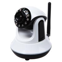 Wholesale H 264 Ptz Ip Camera - PTZ Camera Wireless Wifi IP Camera 720P HD 4XZoom Security Baby Camera with IR Cut H.264 Night Vision 10M Baby Monitor