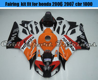 Nuovo Motor Bike carenature iniezione ABS carenatura Fit Kit per Honda 2006 2007 06 07 CBR1000RR corpo Frames Moto Carrozzeria Moto carenature