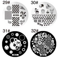 Wholesale Stamping Nail Art Design - 60 styles Designs Nail Art Polish Stamping Template Image Stamp Plates DIY