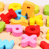 Wholesale Digital Learning Toys - Baby Children Learning Puzzle Journey Lift and Learn 26 Letters and 20 Digital Numbers Slide Puzzle Educational Puzzle Toys