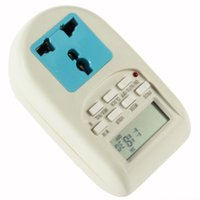 Wholesale Eco Energy Saving - Digital Energy Saving Timer Programmable Electronic Timer Plug EU display useful