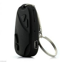 Mini HD 720P H.264 Spy Car KeyChain Video Recorder Hidden Pin Hole Cámara Videocámara DVR 808