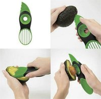 Wholesale Good Hot Knife - 2017 hot sale Good Grips Gadget 3-IN-1 Avocado Slicer with Knife Slicers Pitter Peeler Scoop Kitchen Food Utensil Tool Gadgets