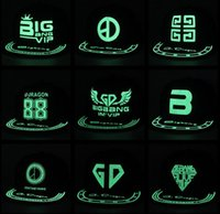 Wholesale Superman Cap Men - Superman Noctilucent Baseball Caps Glow in Dark Snapbacks Hats Luminous Adjustable Cap Hip-hop Hat Men and Women Christmas Gifts