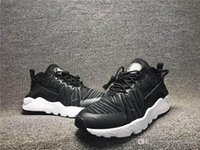 Wholesale Breathing Trainer - 2017 Huarache ID Custom Breathe Shoes Sport For Men Women,Woman Mens Navy Black Air Huaraches Multicolor Sneakers Athletic Trainers Boost