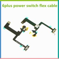 Wholesale Power Checking - Repair Parts for iPhone 6 plus Menu Button Power Switch On Off Flex Cabble One by One Checked