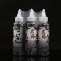 Wholesale Kokkai Sumi Ink - 3pcs Tattoo Ink Professional Tribal Black Color Ink authentic KOKKAI SUMI Ink 4oz for Lining HH-002