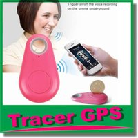 Wholesale Gps Tracker Micro - Micro Mini Smart Finder Smart Wireless Bluetooth 4.0 Tracer GPS Locator Tracking Tag Alarm Wallet Key Pet Dog Tracker with Retail box OM-CH3