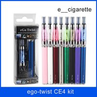 Wholesale Battery Ego Best - Ego-c twist CE4 Adjustable Voltage Battery For CE4 EGO-T best e cig battery electronic cigarette Healthy E-cigarette
