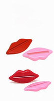 labio dispensador al por mayor-dispensador de pasta de dientes DHL Free Ship, 300Sets (2Pcs / Set) Lip Kiss Dispensador de tubo de baño Pasta de crema Crema exprimidor en todo el mundo Tienda