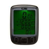 Wholesale wireless bike computer waterproof backlight resale online - Bicycle Computer Waterproof Multifunction Cycling Computer Bicycle Speedometer Odometer LCD Backlight Backlit Bike Computer free ship