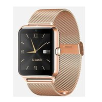 Wholesale Mp4 Compatible - 2016 Bluetooth Smart Watch Z50 with heart rate SIM card TF mp3 mp4 compatible with Android Phones OTH302