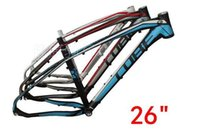 Wholesale Cube Road Bike Frame - 263-Aluminum mountain bike frame 15 paragraph(Germany CUBE REACTION) 26  27.5   29 inch lightweight cross-country bike racks