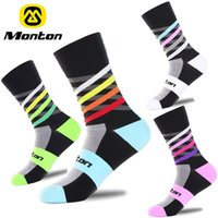 Wholesale Socks For Hiking - HOT Sale Monton Unisex Sport Cycling Socks High elasticity Outdoor Sports Wearproof Socks Deodorization Breathable For 4 Color Optional ciyu