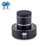 Wholesale Mp3 Resonance Speaker - Wholesale- Adin S8BT Resonance Speakers Mini Bluetooth Portable Stereo Subwoofer Sound Bass Professional With Microphone LED for PC iphone