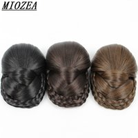 Wholesale U Part Weave Caps - Hair U Part Glueless Short Straight Lace synthetic Cap For Making With Adjustable Straps Weaving Caps