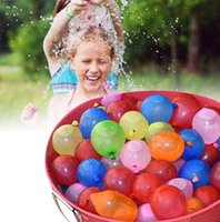 Wholesale DHL packs Amazing Magic Water Balloons With Refill Tube Bunch Summer Cool Game