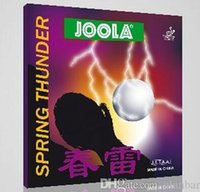 Wholesale Joola Table Tennis Rubbers - 2PCS 1 LOT- Joola spring economics at loyola thurder Table Tennis Rubber SPRING THURDER pingpang rubber