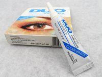 Wholesale Duo Water Proof - NEW Adhesive DUO Eye Lash Glue False Eyelashes Clear White & black Makeup Adhesive WATER PROOF Eyelash Adhesive 9G Makeup Tools