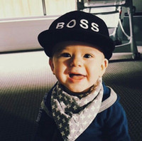 gorras de bebé negro gorras al por mayor-Gorras de béisbol para bebés Niños Ins Gorras Snapback Sombrero para el sol Niños niños Niñas Bordado Hiphop Sombreros Negro Color rosa