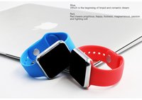 Wholesale Iphone Watches For Men - 2016 Bluetooth Smart Watches GU08S for iPhone 6S Samsung S5 S4 Note 3 HTC Android Phone Smartwatch for Men Women Free Shipping from Letine