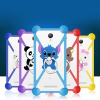 Wholesale Cheapest Water Resistant Phone - Cheapest Price Cartoon Soft Silicon Phone Cover Case For iPhone 6C Case Cute Cartoon Frame 3.5-6.0 inch phone