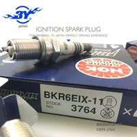 Wholesale Ngk Plugs - Brnad (4X) BKR6EIX-11 3764 NGK IRIDIUM IX spark plug for 6418 2272 BKR6EIX MADE IN JAPAN, logan mazda 323 bujias