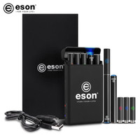 Wholesale Double Ecigarette - brand mini ecigarette eson rechargeable ecig best quality can be refilled empty cartomizer charging case fast charging for the battery