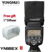 Wholesale Eos T3i - YONGNUO YN-565EXII YN565EX II Speedlight E-TTL Flash Speedlite for Canon EOS T4i T3i T2i T1i Xsi Xti 450D 500D 550D 600D 650D 1000D 1100D