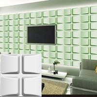 waterproof modern simple wall decorative corners leaves shape designed lightweight 3d pvc wall panels