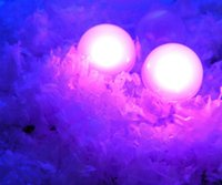 Wholesale Wholesale Pink Costume Pearls - Flashing Mini Round Ball Waterproof LED Fairy Pearls Floating Pool Lights for Wedding Party Home Garden Decor 48pcs  lot Free Shipping