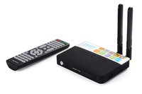 Wholesale Mini Tv Tuner Bluetooth - New CSA93 Amlogic S912 Octa Core 2 3GB 16 32GB Android 6.0 Smart TV Box Mini PC Streaming 4K H.265 Media Player Bluetooth 2.4G 5G Wifi
