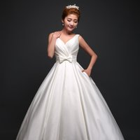 Wholesale White Dinner Cocktail Dress - 2017 new style fine ladies white wedding women's royal dinner dresses can be unloaded trailing sexy princess wedding cocktail dress