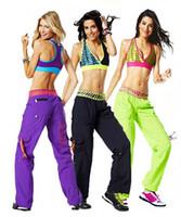 Wholesale Cut Loose Cargo Pants - woman dance pants cut me loose Cargo Pants orange black green purple free shipping