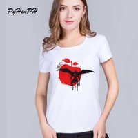 PyHenPH 2017 New Death Note T-shirts Donne Demon Love T-shirt a manica lunga Donna Top Casual Top Hipster T Shirt