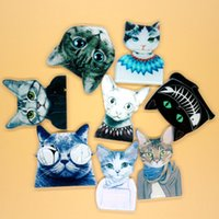 Wholesale Enamel Animal Collar - Acrylic HARAJUKU Badge Cat Brooches Pin Up Collar Tips Epaulette Enamel Broche Christmas Gifts Channel Brooch 1196--- free shipping HY1172