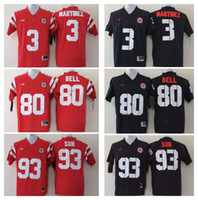 Wholesale Suh Jersey - 2017 Cheap Wholesale 3 Taylor Martinez 93 Ndamukong Suh 80 Kenny Bell Mens College Nebraska Huskers Men Jerseys Football Jerseys