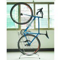 Wholesale Park Stand - Vertically bike repair servicing frame work stand bicycle parking stand Garage Vertical Hanging bike Storage
