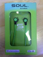 Wholesale Soul Headphones Mini - High quality Soul SL mini Earphones Audio Street by Ludacris Headphone In-Ear Headphones Factory Price for Mp3 Mp4 Cell phone