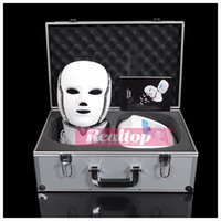 Skin Analyzer oxidation therapy - Hotting Newest Led Light Therapy Mask Wrinkle Remove Rejuvenation Oxidation Resistance Led Light Photon Neck Face Lifting LED Facial Mask