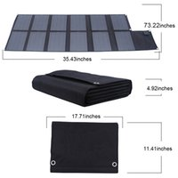 Wholesale Solar Panel Computer Charger - 120w Portable Folding Solar Panel Charger Bag Solar Regulator 18V Car Boat Battery Charger Solar Laptop Computer Charger