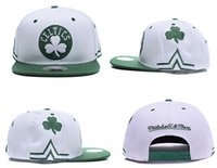 Wholesale Discount Snap Backs - Discount price Basketball Boston Snapback Celtics pierce Caps Adjustable BaSeball Snap Back Snapbacks Players Sports free shipping
