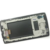 Wholesale card lcd screen resale online - For LG G4 H810 H811 H815 LS991 US991 LCD Touch Digitizer Assembly W frame Repair Parts Black Single Sim Card