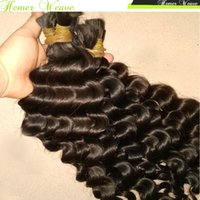 Never Ending Beautiful Hair 4pcs Cheap Virgen Bulk Hair Peruvian rizado apretado Rommantic rizos