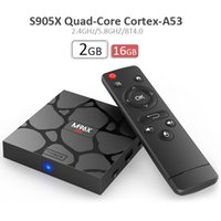 Wholesale Android 2ghz - Newest android ott tv box M96X mini quad core s905x 2GHz frequency Phoenix KD17.3 fully loaded 4k smart tv box