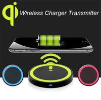 Wholesale Charging Pad For Android - Qi Wireless Charger Pad with USB Charging Cable for Android HTC LGTypefor Samsung Galaxy S7 S6 edge Plus for iPhone for Nokia Lumia 950
