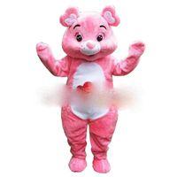 Wholesale Pink Care Bear Costume - Care Bear Mascot Costume Custom Fancy Costume Anime Mascotte Theme Fancy Dress Carnival Costume